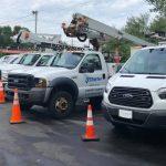 fleet cleaner washes trucks and sprinter vans
