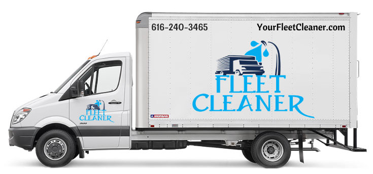 fleet cleaner mobile fleet washing truck