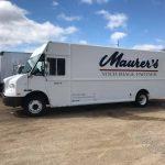fleet cleaner washes maurer's trucks in grand rapids mi