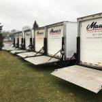 maurers truck fleet before cleaning