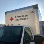 american red cross truck cleaned by fleet cleaner of grand rapids mi