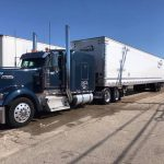 truck washing service by fleet cleaner washes semi truck