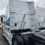 truckl cab backside clean by fleet cleaner
