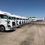 mobile truck washing service in grand rapids mi cleans fleet of trucks