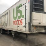 us foods truck before cleaning by fleet cleaner in west michigan